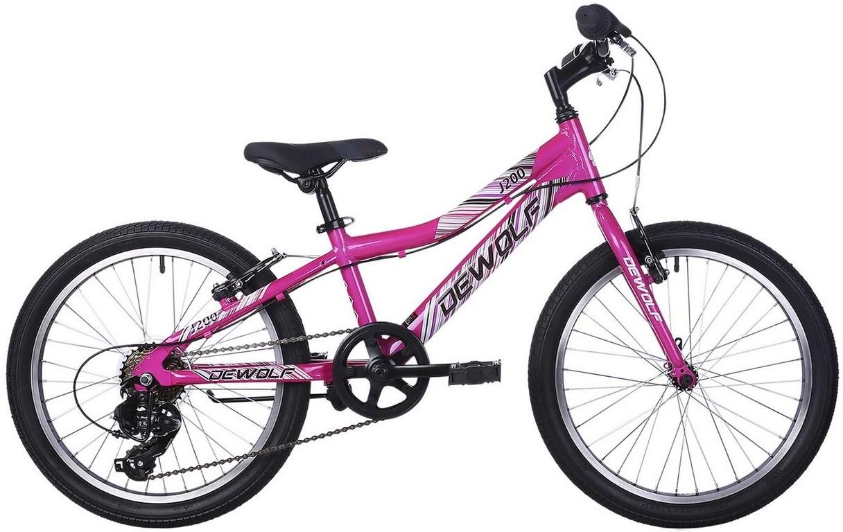 """Велосипед Dewolf J200 Girl фиолетовый 20""""/10"""""""