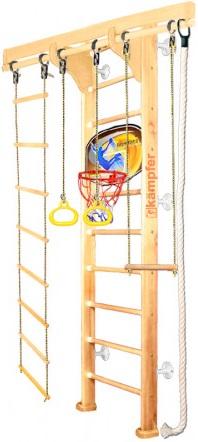 Спортивный комплекс Kampfer Wooden Ladder Wall Basketball Shield