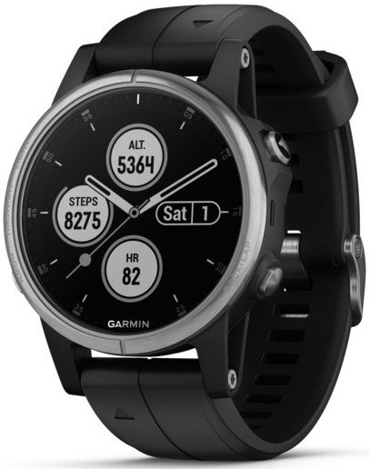Умные часы Garmin Fenix 5S Plus Silver/…
