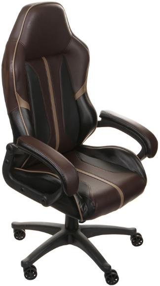 Игровое кресло ThunderX3 BC1 Boss Coffee Air черный/коричневый