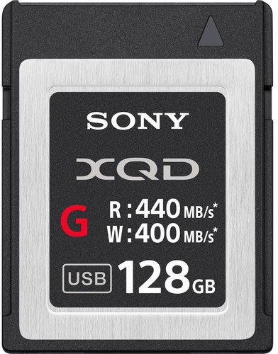 Sony XQD G Series 128Gb