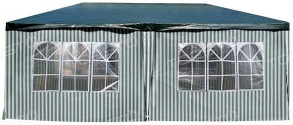 Шатер Афина-Мебель AFM-1015A зеленый/белый