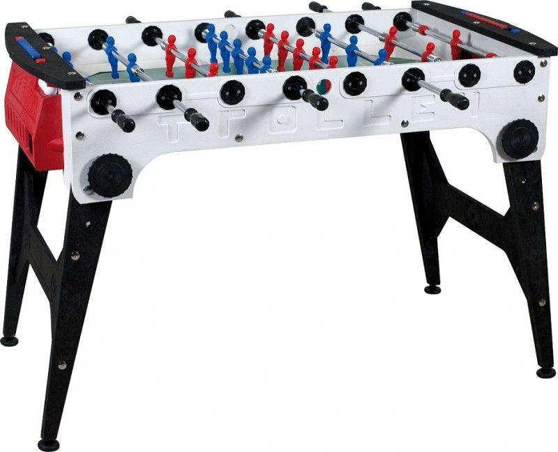 Игровой стол Norditalia Ricambi Storm Trolley Family Outdoor Telescopic 5FT красно-белый