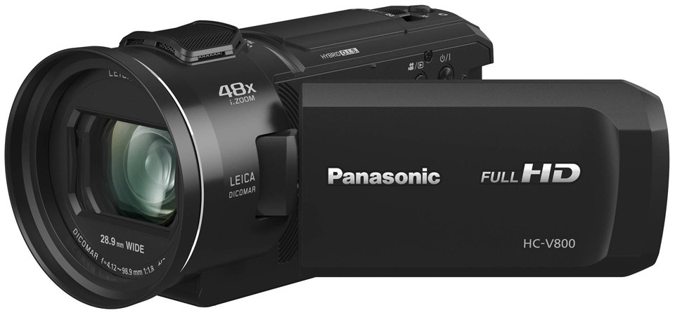 Видеокамера Panasonic HC-V800 Black