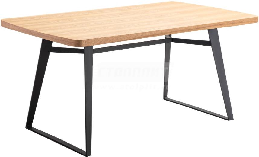 Кухонный стол Столплит DT-6686 бежевый 160x90x75 см