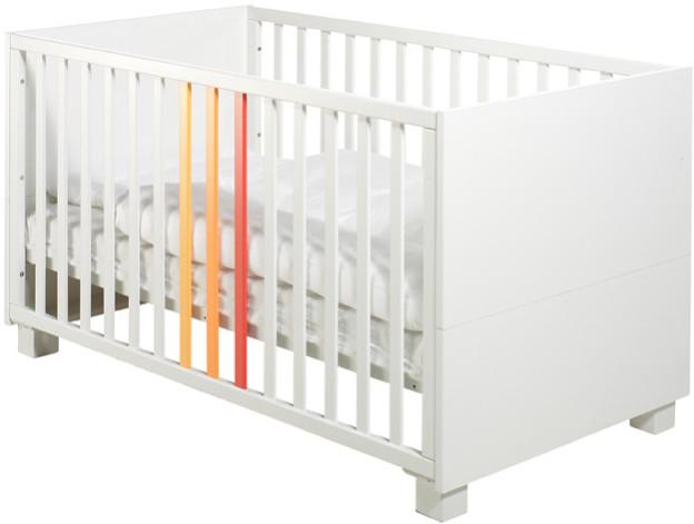 Кроватка Geuther ColorLine белый с цвет…