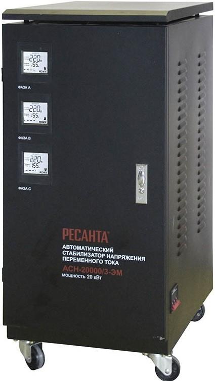 Стабилизатор напряжения Ресанта ACH-20000/3-ЭМ