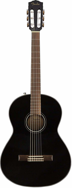 Гитара Fender CN-60S Nylon Black WN