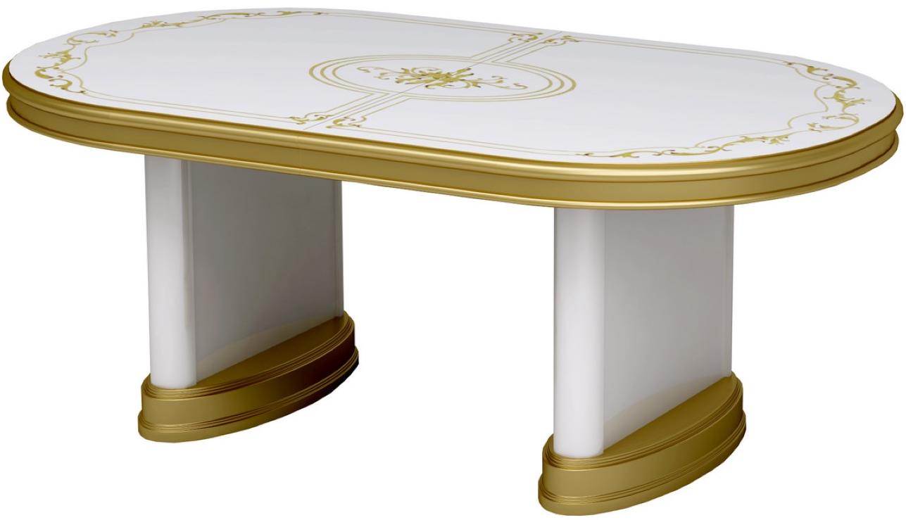 Кухонный стол Интердизайн Роза белый/зо…