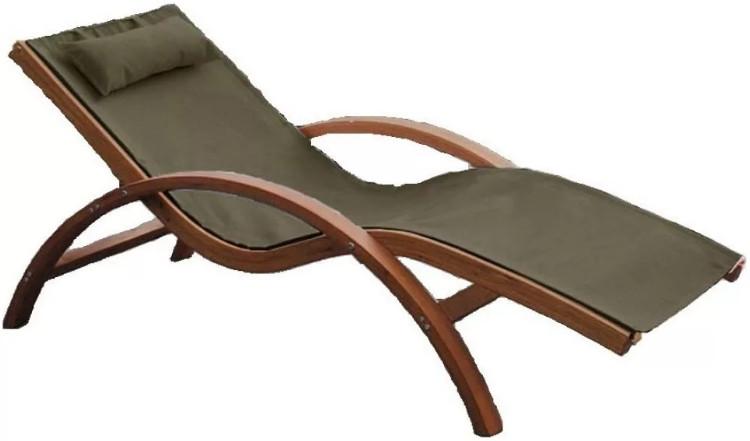 Шезлонг-лежак Афина-Мебель AFM-503B оливковый