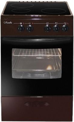 Плита Лысьва ЭПС 301 МС коричневый, без крышки