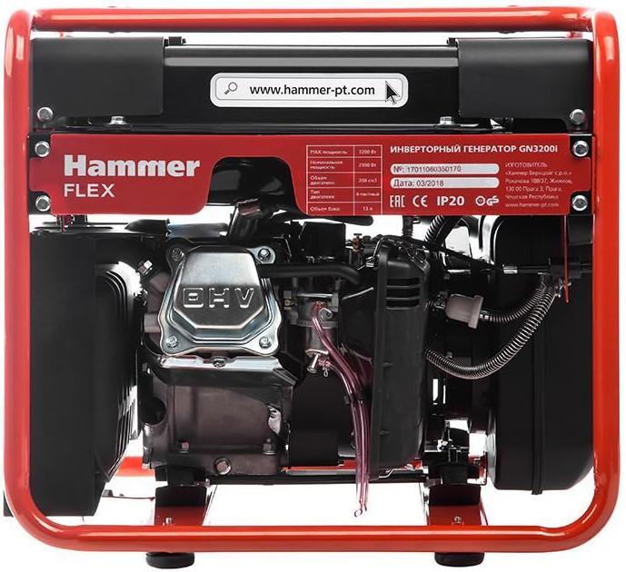 Бензогенератор Hammer GN3200i
