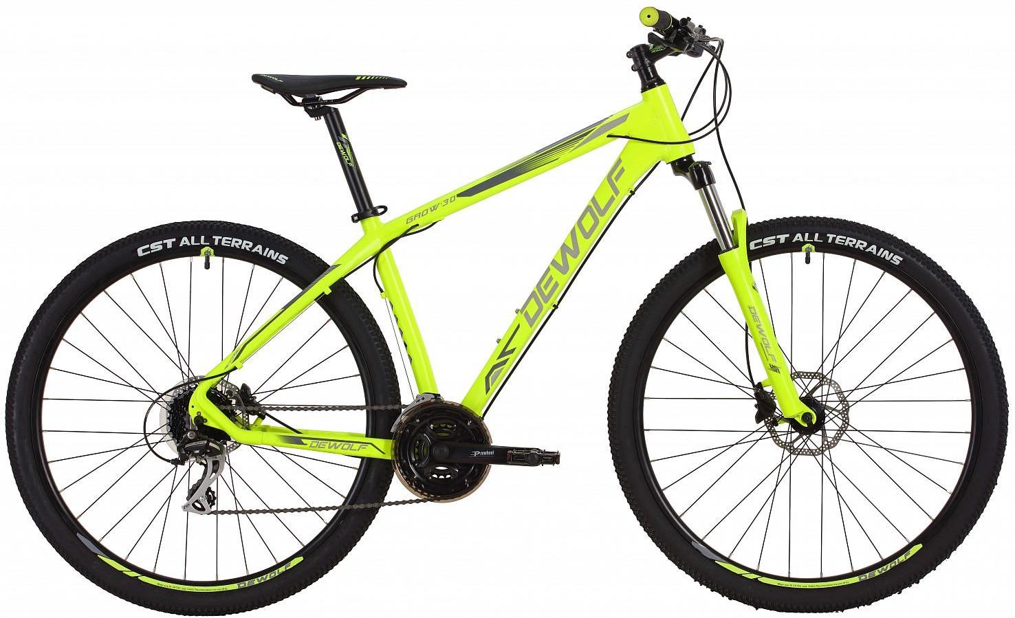 """Велосипед Dewolf Grow 30 Neon Yellow 29"""""""