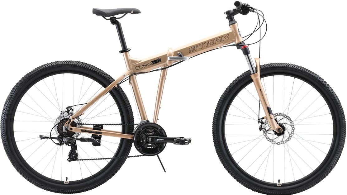 """Велосипед Stark Cobra 29.2 D (2020) бронзовый/черный 29""""/20"""""""