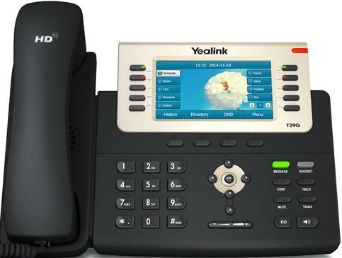 IP-телефон Yealink SIP-T29G Black
