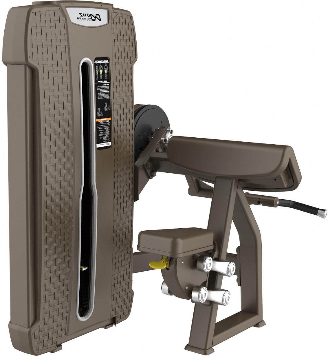 Грузоблочный тренажер DHZ Camber Cur Стек 105 кг E-4030
