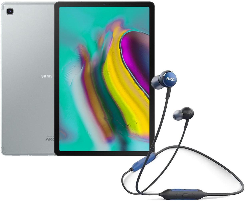 """Планшет Samsung Galaxy Tab S5e 10.5"""" LTE 4Gb 64Gb Silver + AKG Y100 Wireless Blue ㋛ ❄️"""