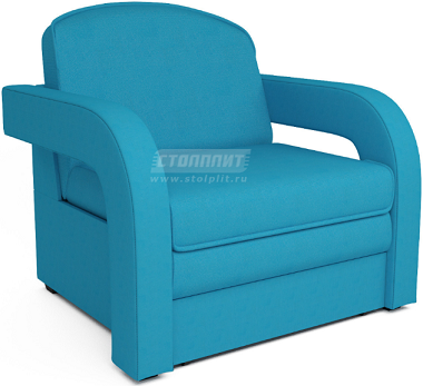 Кресло-кровать Столплит Карина-2 синий 95x80x80 см