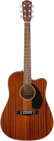 Акустическая гитара Fender CD-60SCE Dread All-Mah WN