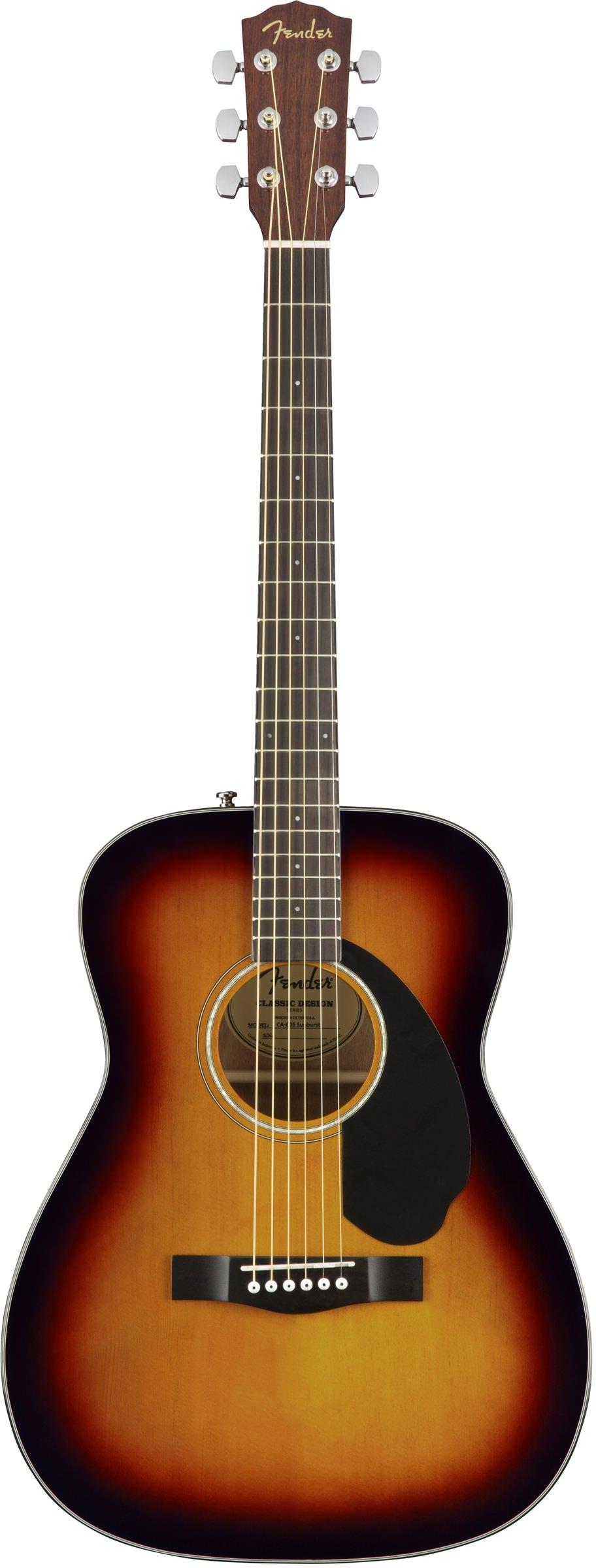 Акустическая гитара Fender CC-60S Concert Sunburst WN