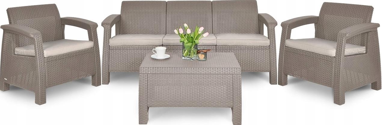 Комплект мебели Афина-Мебель AFM-1030B бежевый