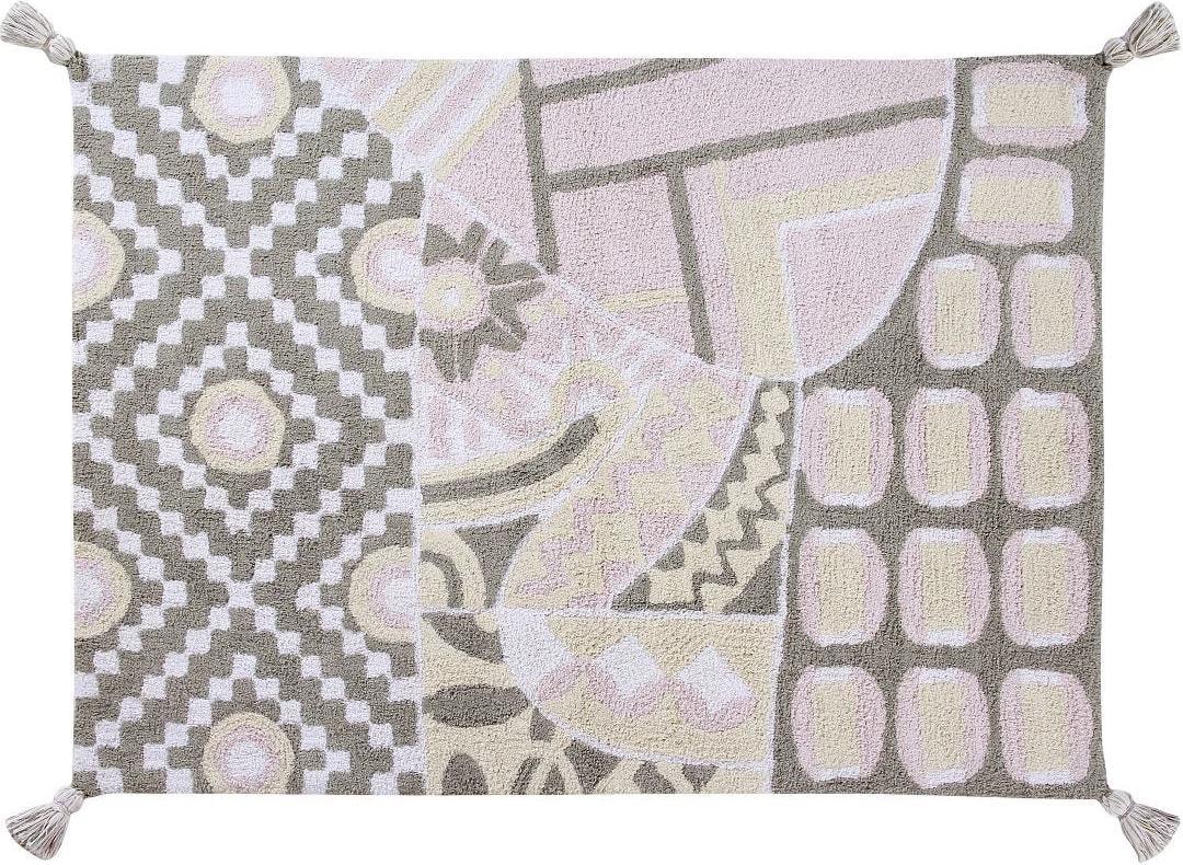 Ковер Lorena Canals Indian Bag Grey/Pink 120х160 см