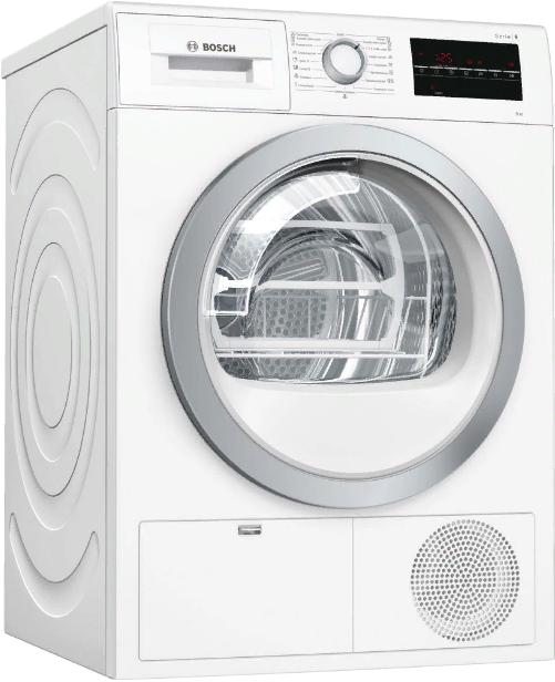 Сушильный автомат Bosch WTG86401OE