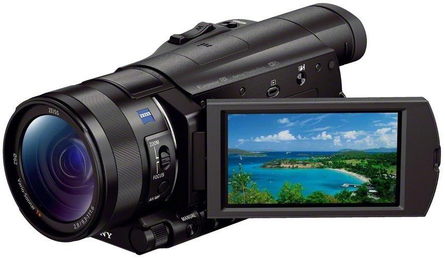 Видеокамера Sony FDR-AX100E Black