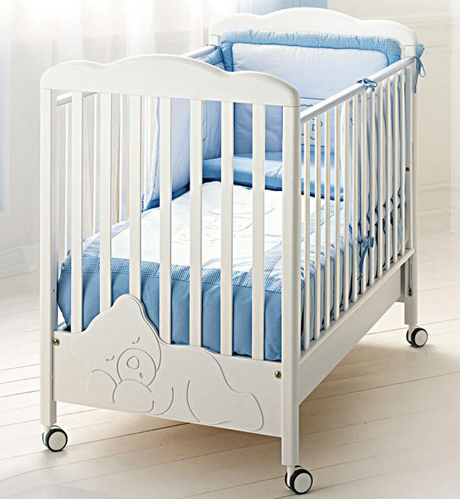 Кроватка Baby Expert Coccolo белый