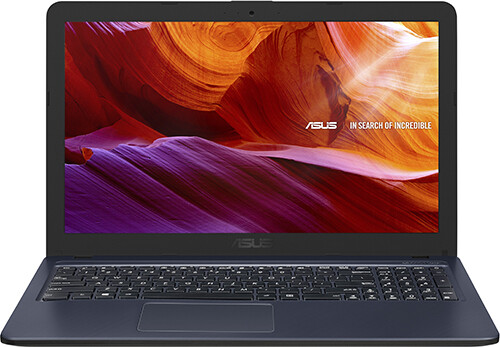 "Ноутбук Asus F543UB-GQ1446T 15,6""/2,3GHz/4Gb/500Gb/GeForce MX110/W10 Black"