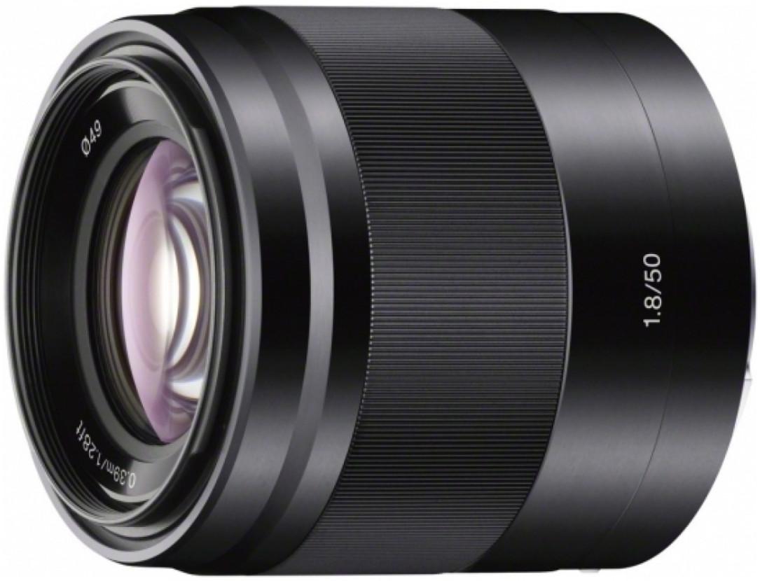 Объектив Sony E 50mm f/1.8 OSS Black