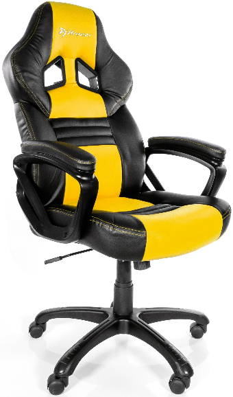 Игровое кресло Arozzi Monza желтый