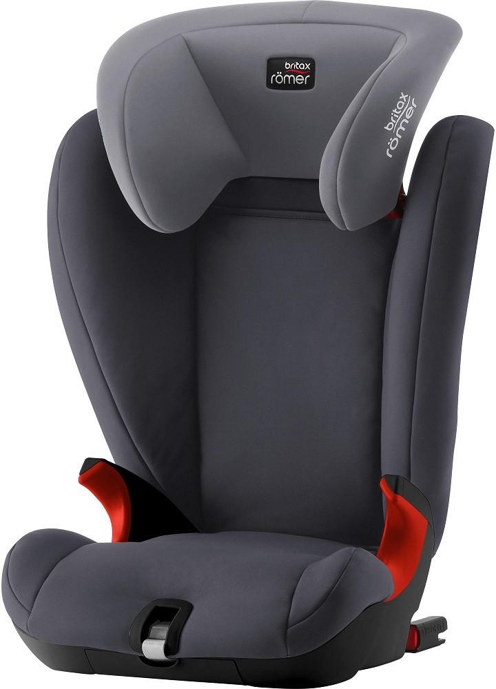 Автокресло Britax Roemer Kidfix SL Black Series Storm Grey (15-36 кг)