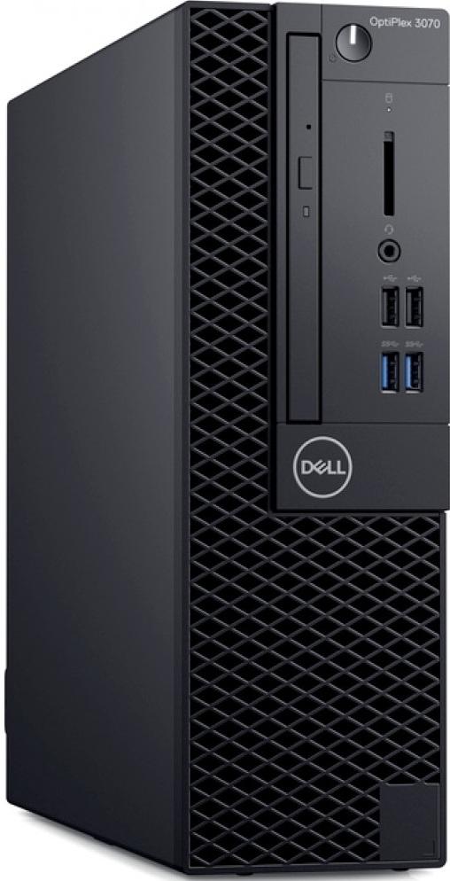 Компьютер Dell OptiPlex 3070 3,6GHz/8Gb/256GbSSD/W10 Black