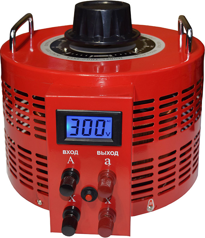 Автотрансформатор Suntek 5000ВА 0-300 Вольт (20А) Red