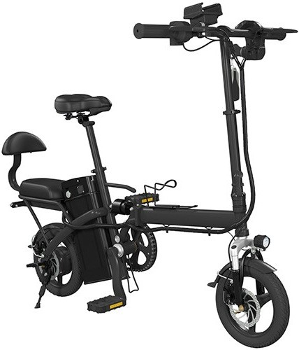 Электровелосипед iconBIT E-Bike K202 черный 14""