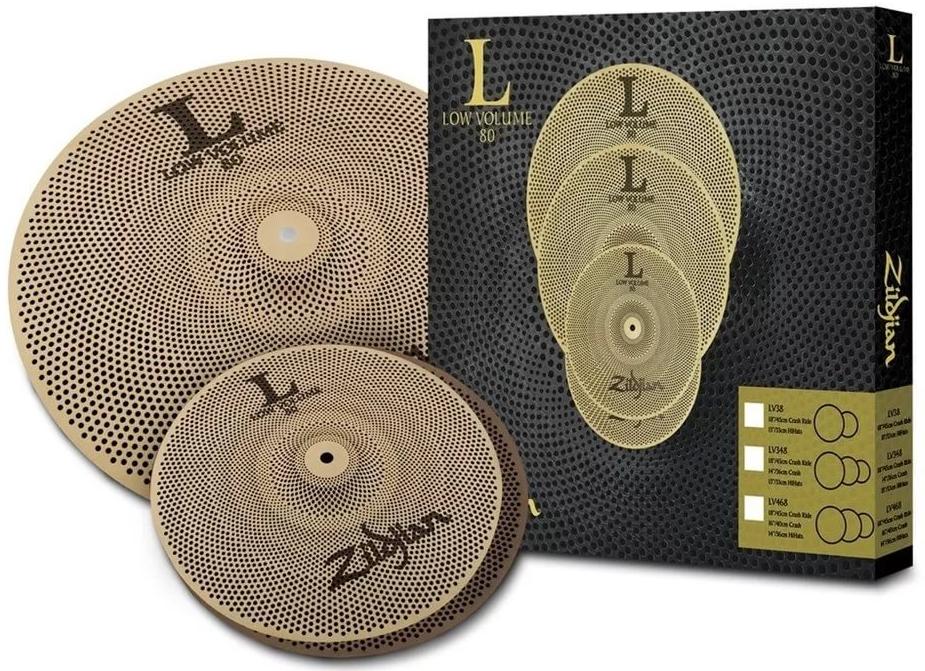 "Комплект тарелок Zildjian LV38 Low Volume 13/18"""