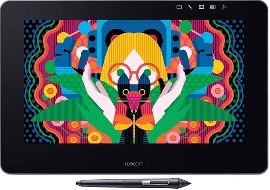 Графический планшет Wacom DTH-1320A-RU Black