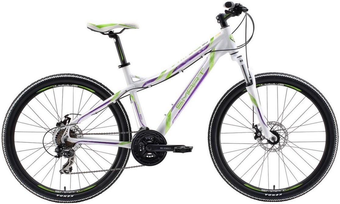 Велосипед Smart Lady 80 (2018) белый/зе…