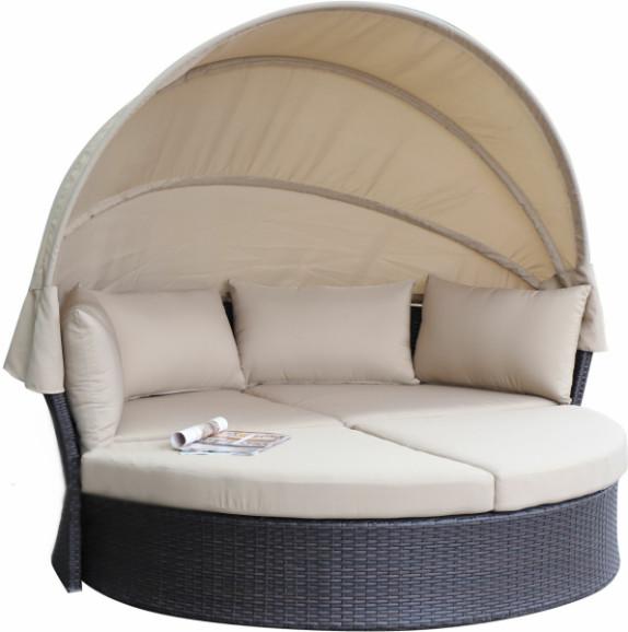 Диван Афина-Мебель AFM-325B коричневый