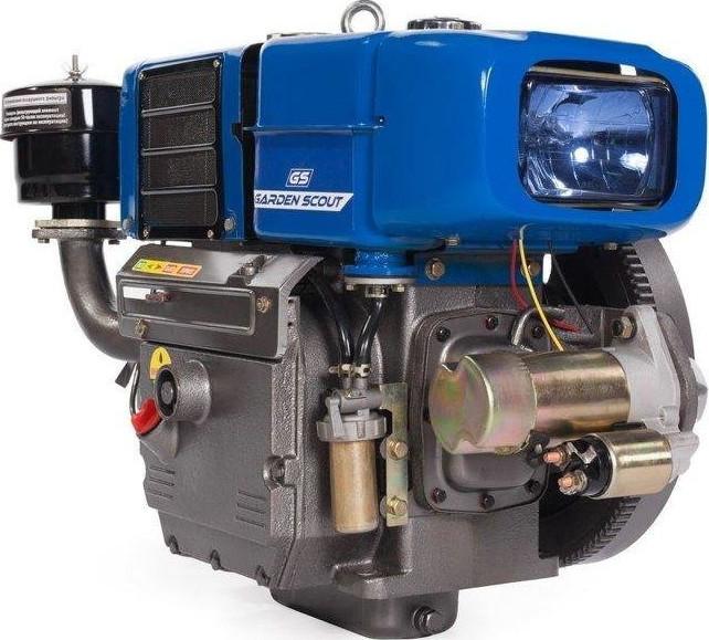 Двигатель Скаут R195-T (без катушки, 15…