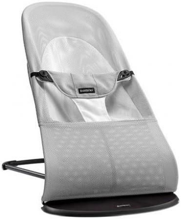 BabyBjorn Balance Soft Air серый/белый