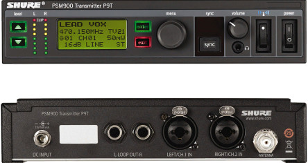 Передатчик Shure P9TE L6E