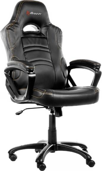 Игровое кресло Arozzi Enzo черный