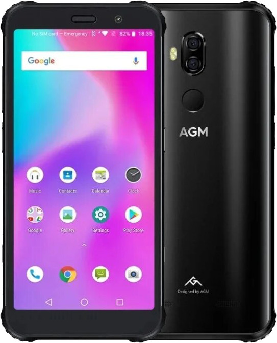 Смартфон AGM X3 LTE 6Gb 64Gb Black