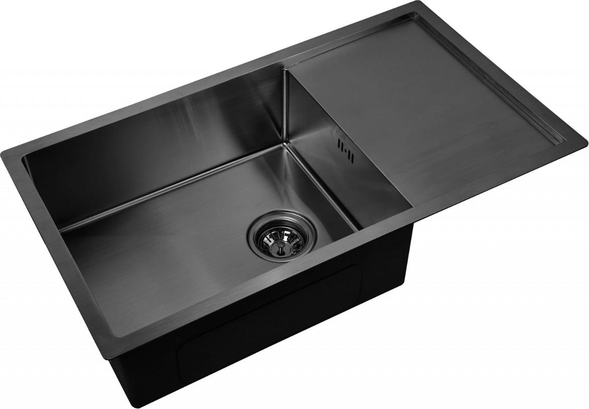 Кухонная мойка Zorg PVD 7844 Grafit