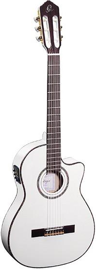 Гитара Ortega RCE145WH Family Series Pro