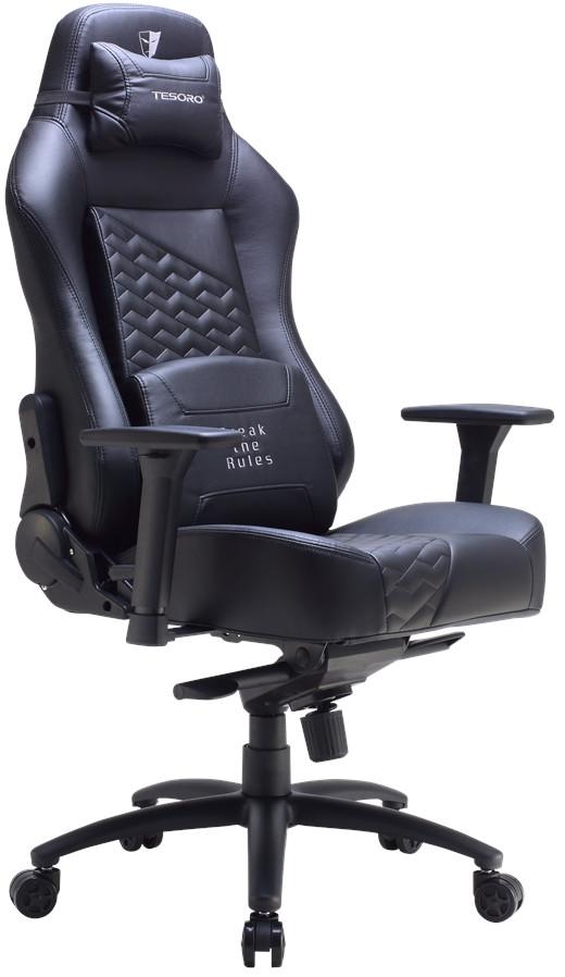 Игровое кресло Tesoro Zone Evolution черный
