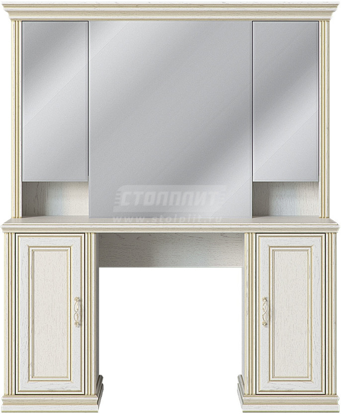 Туалетный столик Столплит Венето дуб леонардо 137x162x44 см