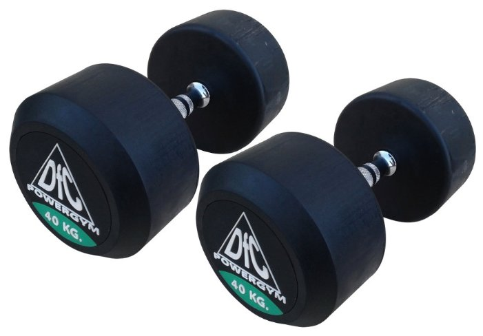 Гантели DFC Powergym DB002-40 пара по 40 кг